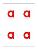 Large Letter Cards for Making/Building Words