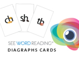 Large Letter and Sound Flashcards - Digraphs and Phonics Blends