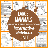 Large Mammals Interactive Unit – Vertebrates Structural & Behavioral Adaptations