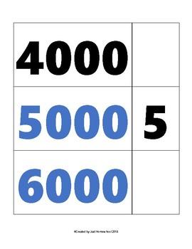 Large Montessori Number Cards