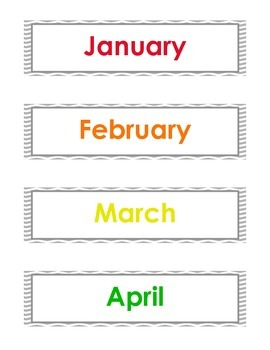 photograph regarding Months of the Year Printable referred to as Enormous Weeks of the yr 12 months printable - English Spanish