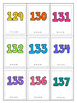 Special Education-Kindergarten -Number Recognition Game- Large Numbers