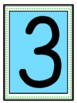 Large Numbers with Number Word and Ten Frame 0-20