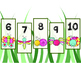 Large/Oversized Number Line (Bug Themed)