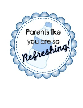 Large Parents are Refreshing Sign
