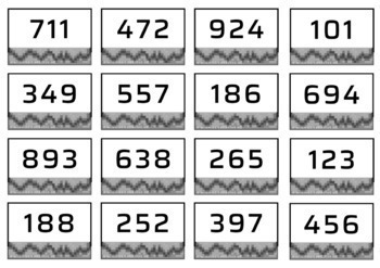 Place Value - Large Numbers