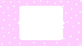 Large Polka Dot Power Point Template