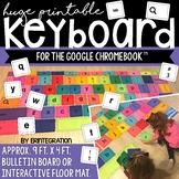 Large Printable Google Chromebook Keyboard Keys / Bulletin Board Pieces