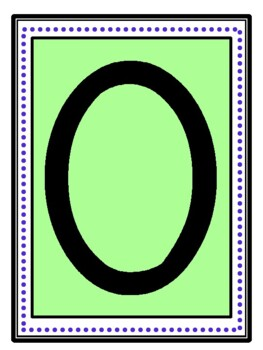 Large Printable Numbers and Tens Frame for the Wall
