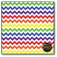 Large Rainbow Chevron Digital Papers {Commercial Use Digital Graphics}