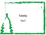 Large School December Wall Calendar