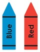 Large Shapes and Color/Crayon Bulletin Posters/Accents