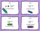 Large & Small Number Task Cards- powers of 10, exponents a