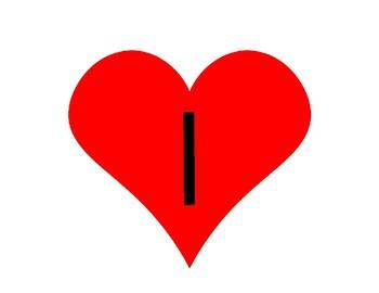 Large Steady Beat Hearts with Rhythms