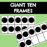 Large Ten Frames 0-10