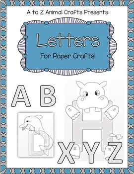 Large Upper Case Letters