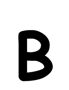 Large Uppercase and Lowercase Letter Cards