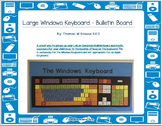 Large Windows Keyboard - Bulletin Board