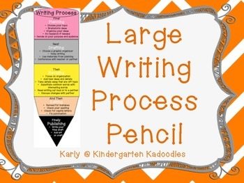 Large Writing Process Pencil