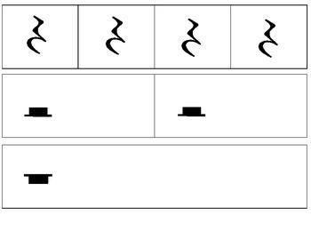 Large-size Rhythm Manipulatives