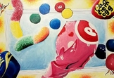 Larger Than Life Candy Painting