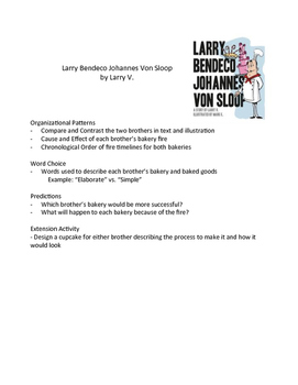 Larry Bendeco Johannes Von Sloop – Teaching Literary Skill