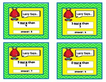 Larry Says - number sense edition