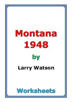 "Larry Watson ""Montana 1948"" worksheets"