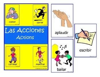 Las Acciones - Actions