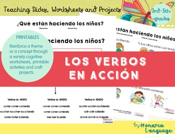 Las Acciones- Action Verbs in Spanish