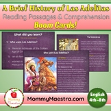 Las Adelitas Reading Passages Boom Cards for Distance Learning