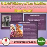 Las Adelitas SPANISH Reading Passages Boom Cards