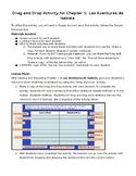 Las Aventuras de Isabela Chapter 1 Activity