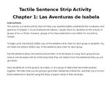 Las Aventuras de Isabela Chapter 1 Tactile Activity