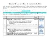 Las Aventuras de Isabela Chapter 2 Activities