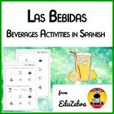 Las Bebidas - Beverages in Spanish - Activity Pack