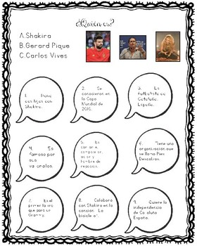 """La Bicicleta"" de Shakira y Vives: Movie Talk & Cultural Study of  Video"