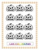 Las Calabazas- Halloween-Spanish Colors - Pumpkins