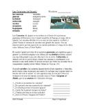 Las Cataratas del Iguazú Lectura y Cultura: Iguazu Falls Spanish Reading