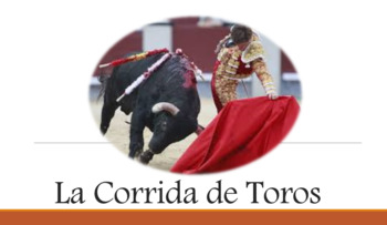 Las Corridas de Toros/Bull Fighting