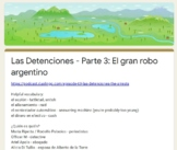 Las Detenciones - Episode 3 - Duolingo podcast - Google Form quiz