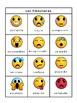 Las Emociones Emojis Bingo -Emotions Vocabulary in Spanish