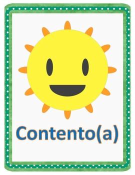 Las Emociones / Emotions and Feelings in Spanish Flashcards