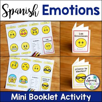 Las Emociones Spanish Emotions Vocabulary Bundle