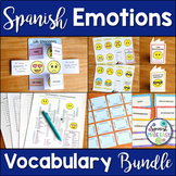 Las Emociones Spanish Emotions Vocabulary Bundle