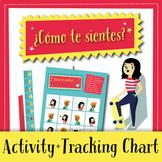 Las Emociones – Vocabulary Activity & Tracking Chart (in Spanish)