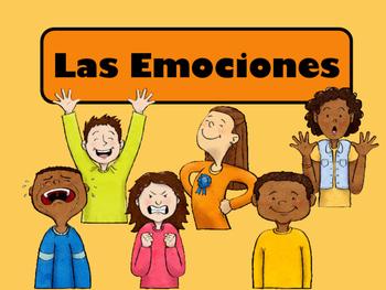 Las Emociones Vocabulary Presentation, Games and Worksheets-Spanish Emotions