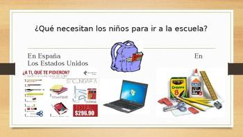 Las Escuelas Españolas y Las Escuelas Americanas