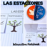 Las Estaciones / Seasons Interactive Notebook