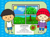 Las Estaciones- Seasons in Spanish